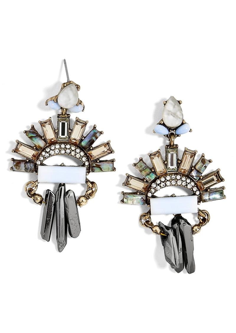 4205a693c BaubleBar BaubleBar Marita Crystal Drop Earrings | Jewelry