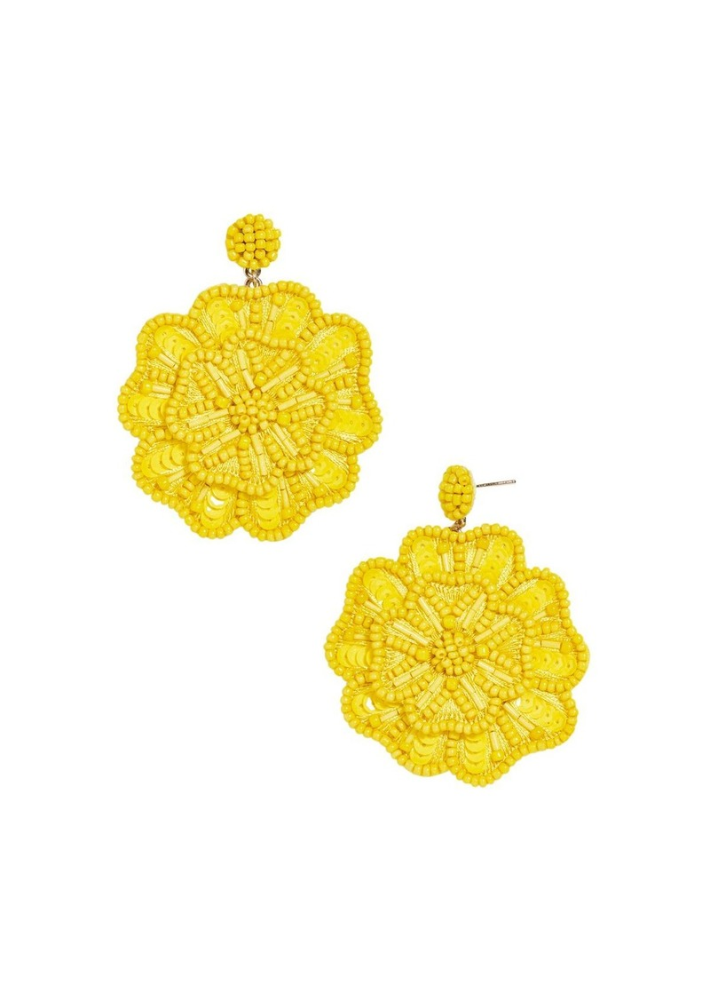 BAUBLEBAR Mathilda Floral Drop Earrings