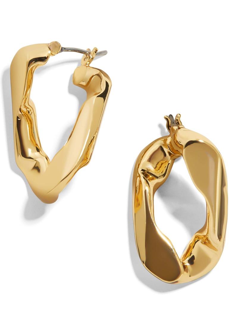 BaubleBar Michel Curb Chain Earrings