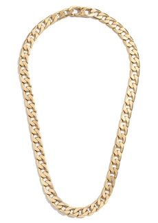 Baublebar Michel Curb Chain Necklace