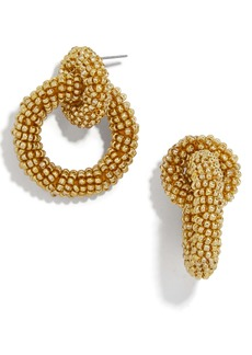 BaubleBar Mini Emma Beaded Hoop Earrings