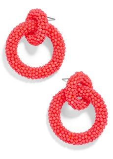 BaubleBar Mini Emma Beaded Hoop Earrings