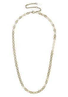 BaubleBar Mini Jupiter 14k Gold Necklace
