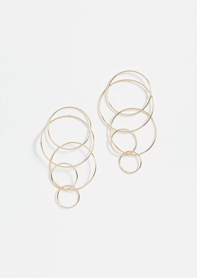 BaubleBar Romelia Linked Hoop Earrings