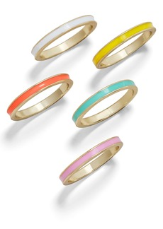 BaubleBar Nohea Set of 5 Rings