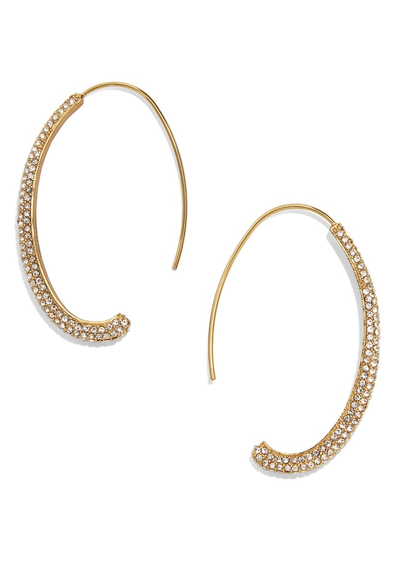 BaubleBar Orion Hoop Earrings