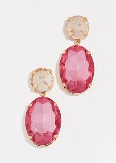 BaubleBar Oval Drop Earrings