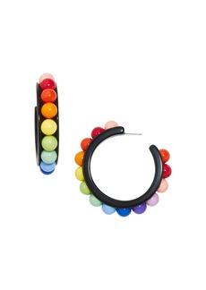 BAUBLEBAR Portia Multicolor Hoop Earrings