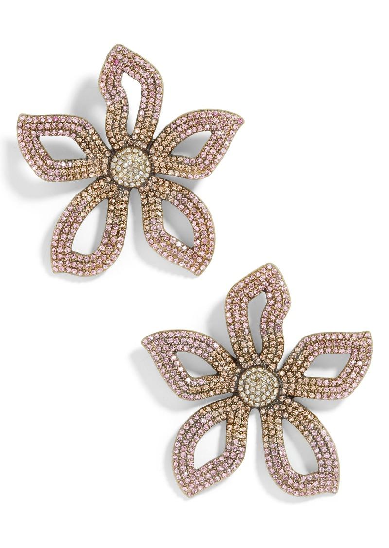 BaubleBar Primina Flower Drop Earrings