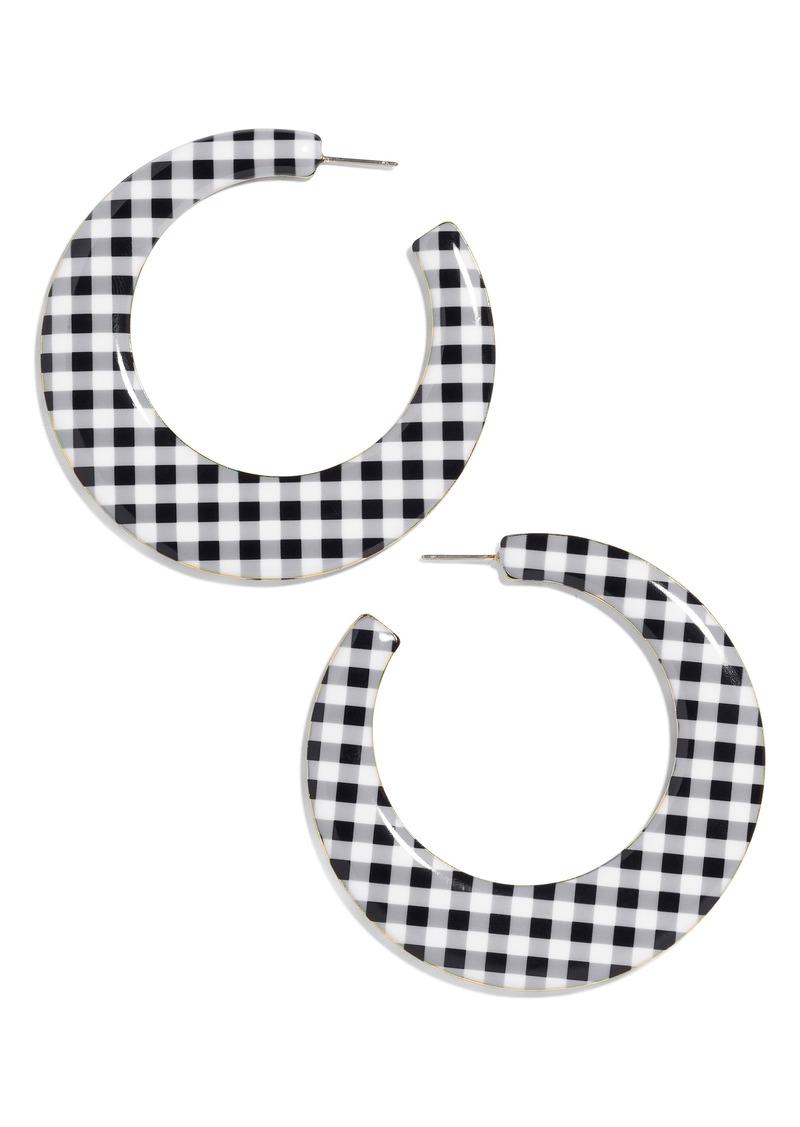 BaubleBar Ofilia Hoop Earrings