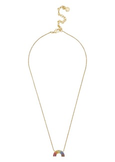 BAUBLEBAR Rain Pendant Necklace, 16""