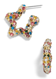 BaubleBar Rainbow Star Earrings