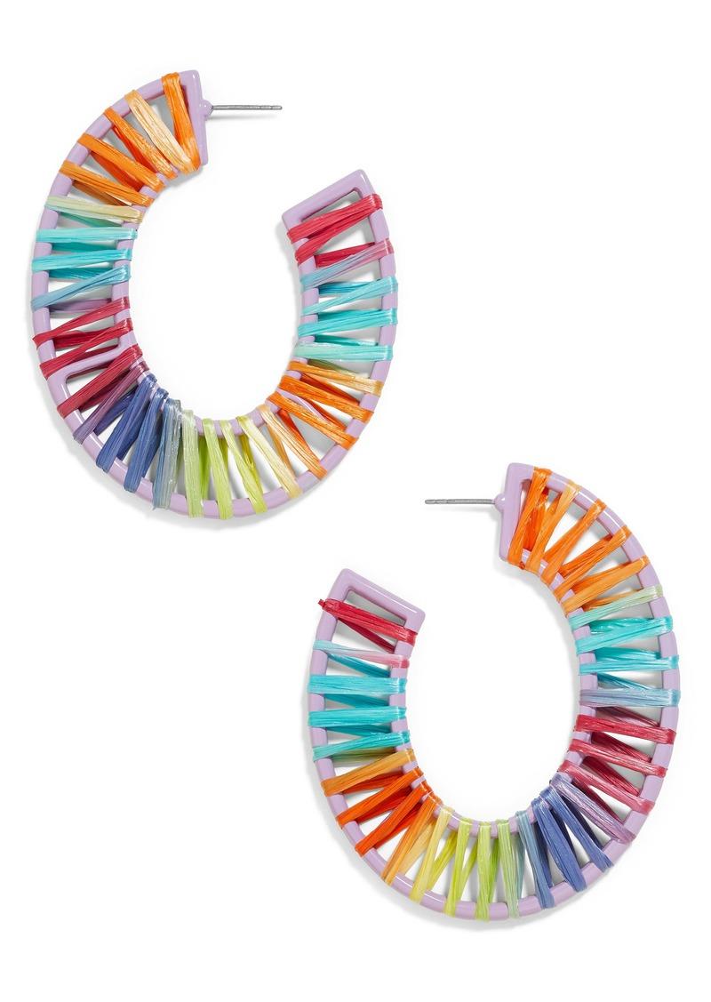 BaubleBar Renatta Hoop Earrings