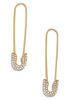 BaubleBar Safety Pin Earrings