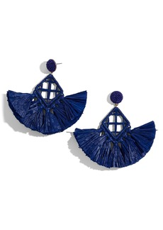 BaubleBar Sahari Fringe Drop Earrings