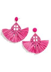 BaubleBar Sahari Fringe Drop Earrings