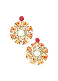 BAUBLEBAR Samiya Starburst Drop Earrings