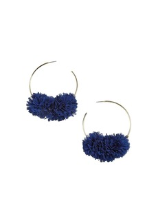 BAUBLEBAR Sanchia Floral Cluster Hoop Earrings