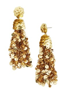 BAUBLEBAR Sequin Tassel Drop Earrings