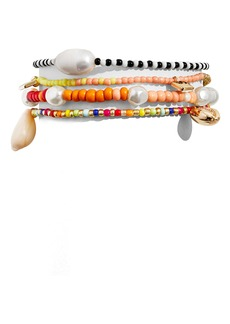 Baublebar Set of 4 Beaded Stretch Bracelets