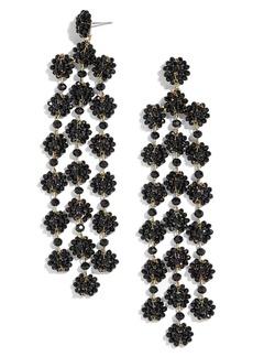 BaubleBar Shiori Beaded Chandelier Earrings