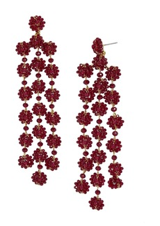 BAUBLEBAR Shiori Floral Drop Earrings