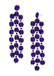 BAUBLEBAR Shiori Floral Drop Earrings
