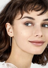 BaubleBar Sirena Pavé Threader Earrings
