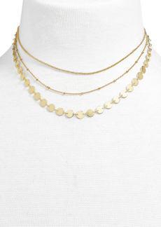 BaubleBar Sophia Layered Collar Necklace