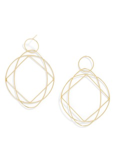 BaubleBar Quad Everyday Spinning Hoop Earrings