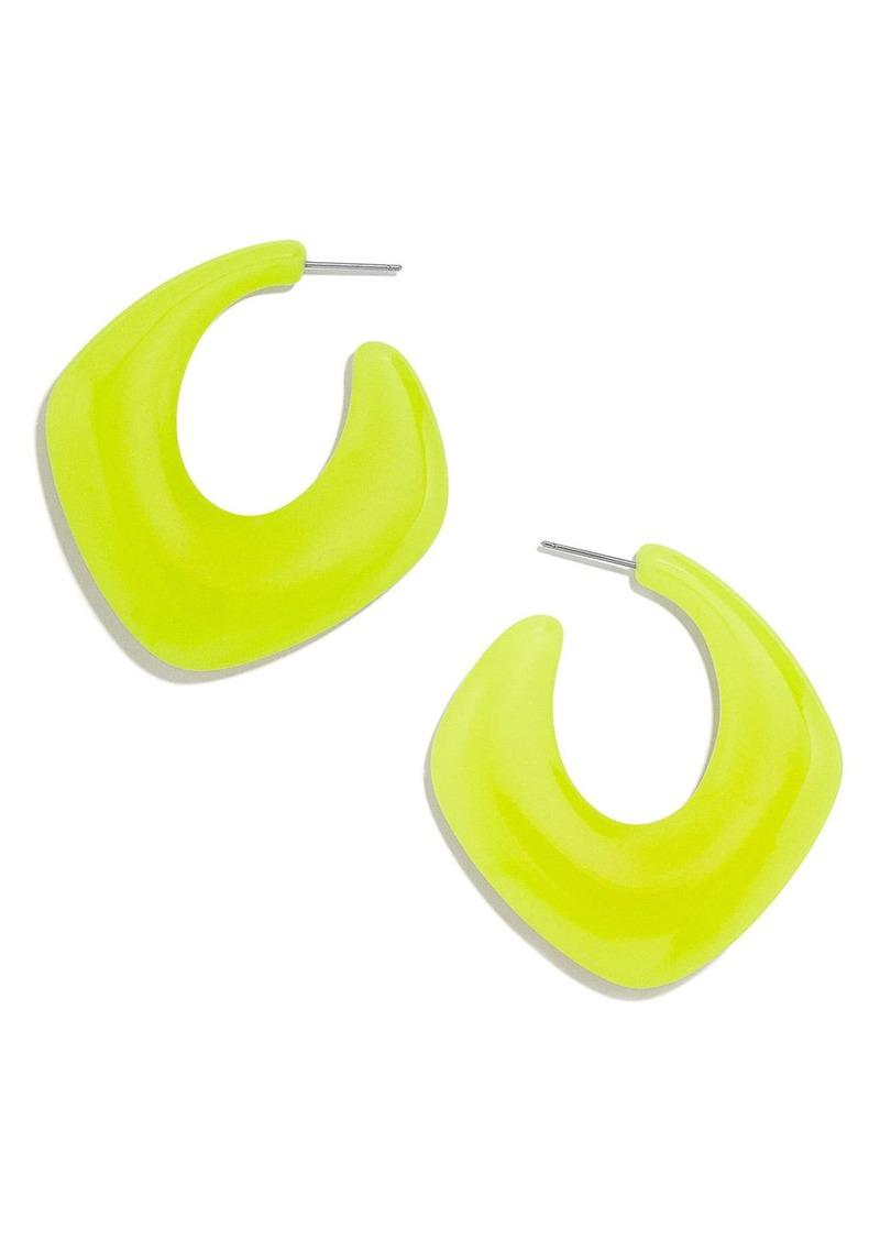 BaubleBar Square Hoop Earrings
