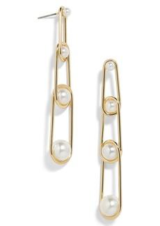 BaubleBar Stansie Imitation Pearl Drop Earrings