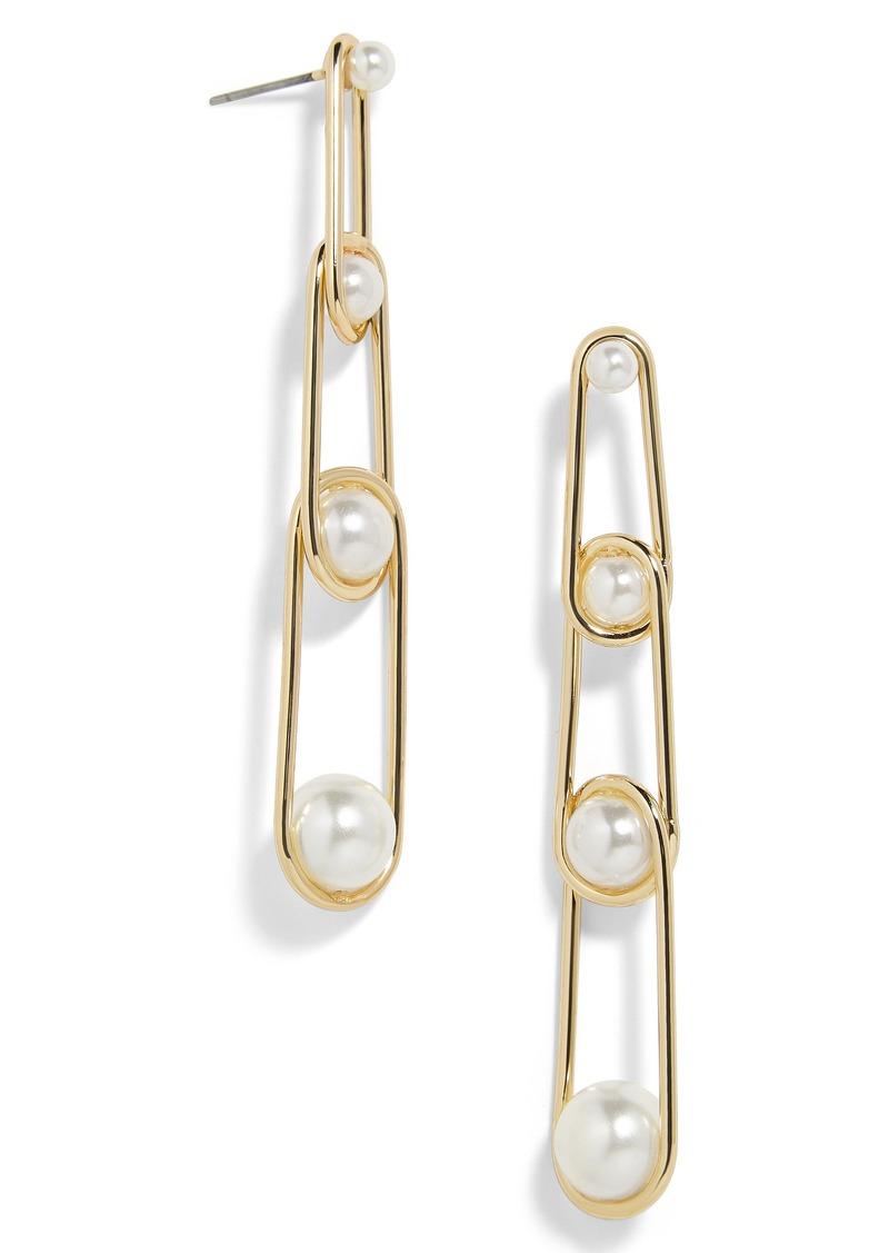 fbea208b89f9e Stansie Imitation Pearl Drop Earrings