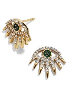 BaubleBar Tali 18K Gold Vermeil Stud Earrings