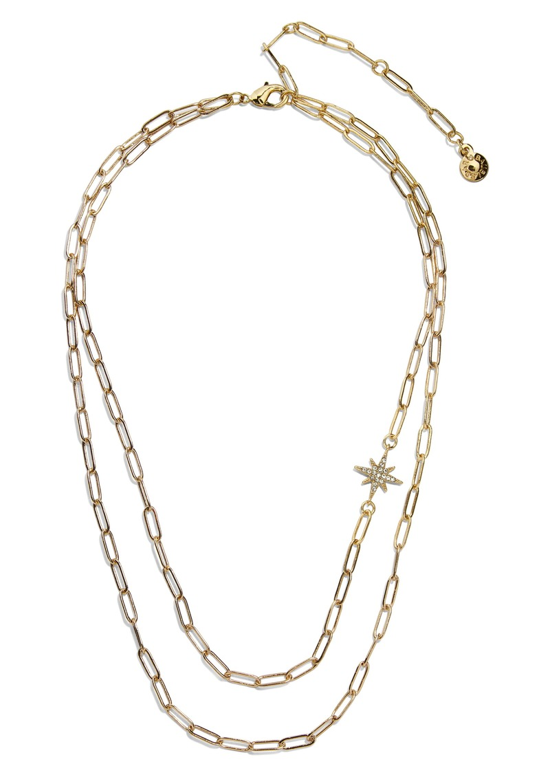 BaubleBar Twinkle Layered Necklace
