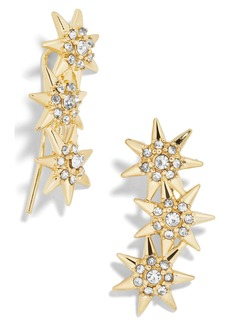 BaubleBar BuableBar Star Crystal Ear Crawlers