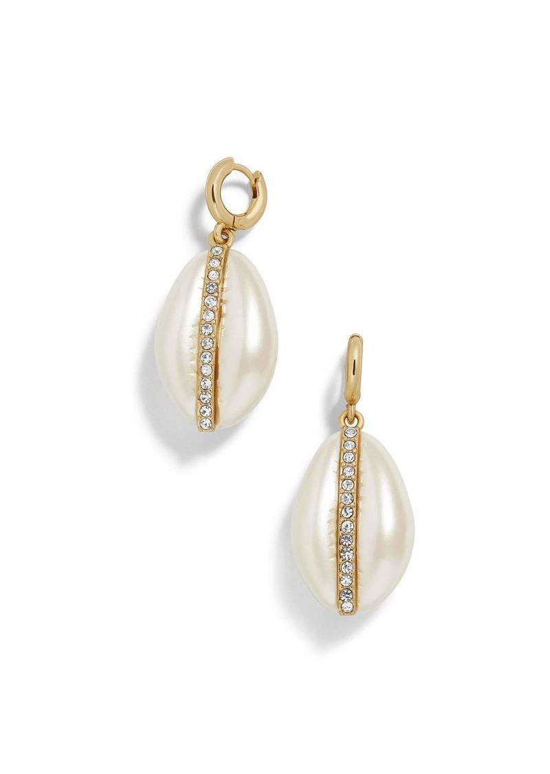 BaubleBar Fiji Resin & Glass Drop Earrings