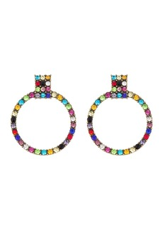 BaubleBar Gemma Hoop Drop Earrings