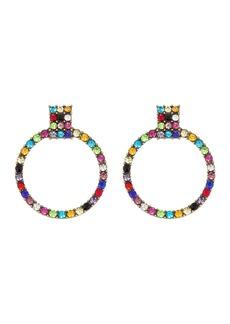 BaubleBar Gemma Hoop Drop Earrings