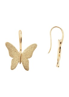 BaubleBar Large Butterfly Earrings