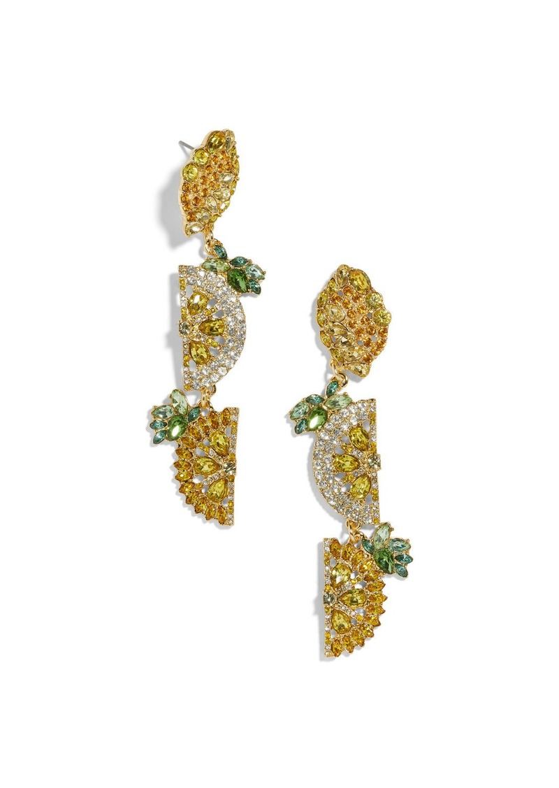 BaubleBar Lemon Drop Earrings