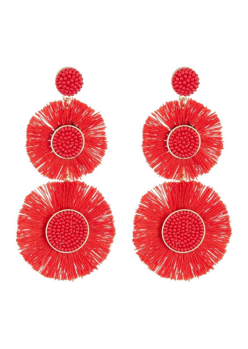 Mariette Fringe Drop Earrings