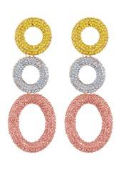 BaubleBar Mini Hoop Drop Earrings