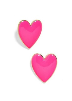 BaubleBar Nellia Heart Drop Earrings