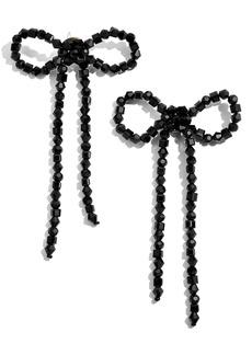 BaubleBar Scarlette Bow Drop Earrings