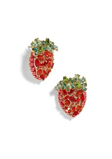 BaubleBar Strawberry Stud Earrings