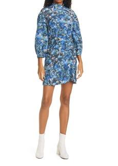 Baum und Pferdgarten Aaliah Hydrangea Print Long Sleeve Dress