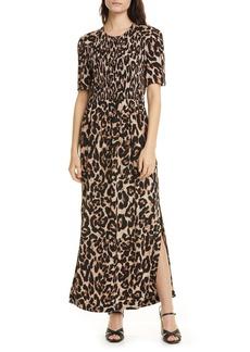 Baum und Pferdgarten Adamaris Leopard Print Tea Length Dress