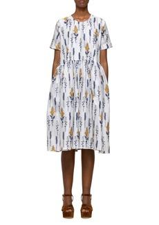 Baum und Pferdgarten Ariola Floral Textured Babydoll Dress
