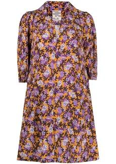 Baum und Pferdgarten floral print mini dress